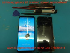 samsung galaxy s8 cracked screen replacement