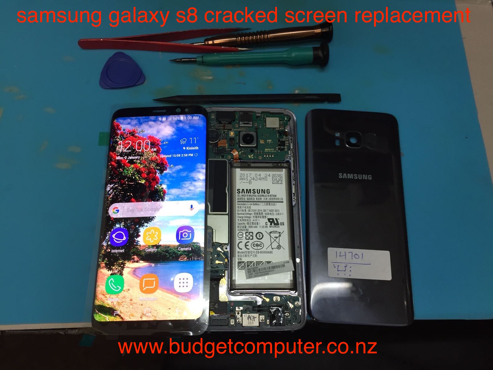 how to connect samsung s8 to computer