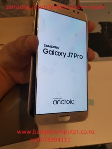 samsung j7 pro broken screen repair in hamilton