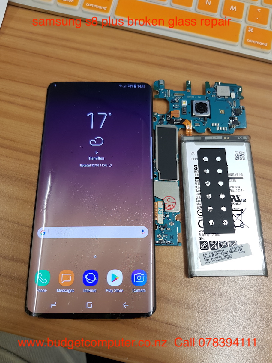 Samsung S8 Plus Broken Glass Repair In Hamilton Call